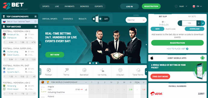 22bet_main_page