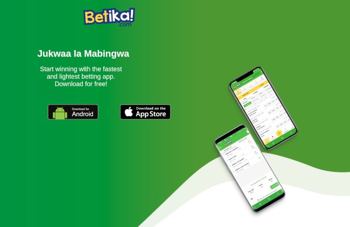 Betika mobile apps