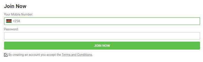 betPawa registration