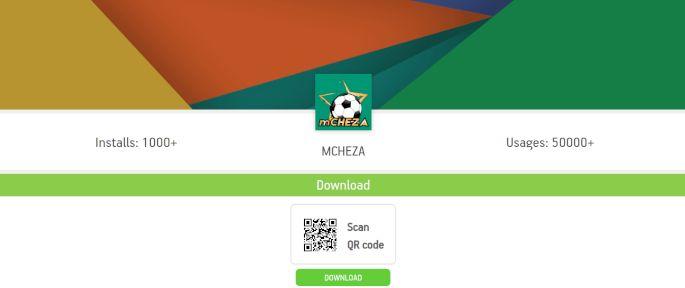 mCHEZA android app