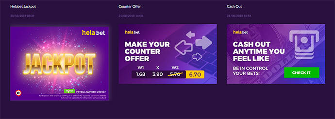 HelaBet promotions