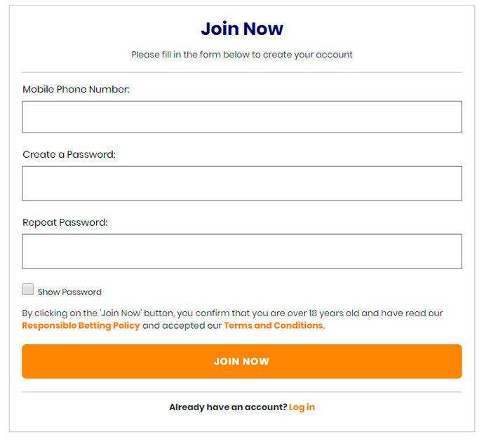 Shabiki registration