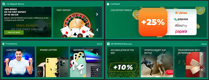 BetWinner Promotions