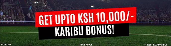 ChezaCash Karibu bonus