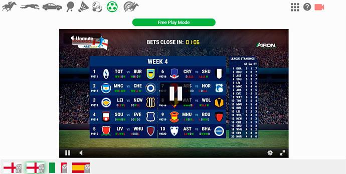 PremierBet virtual betting